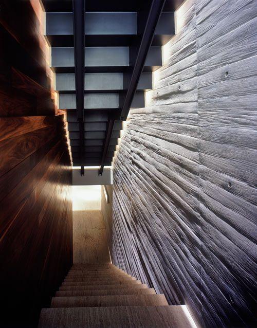 House La Punta by Central de Arquitectura | Design Milk: Mexico Cities, House La, Lapunta, Central De, House Floors Plans, Architecture, Crazy House, Tip, Modern Stairs