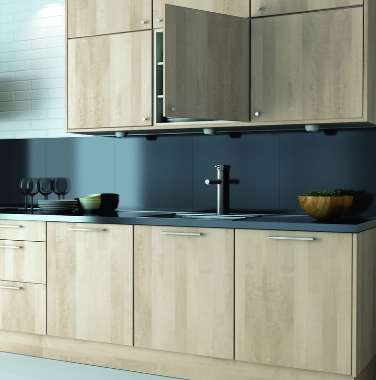 Ikea Kitchen Wood Cabinets