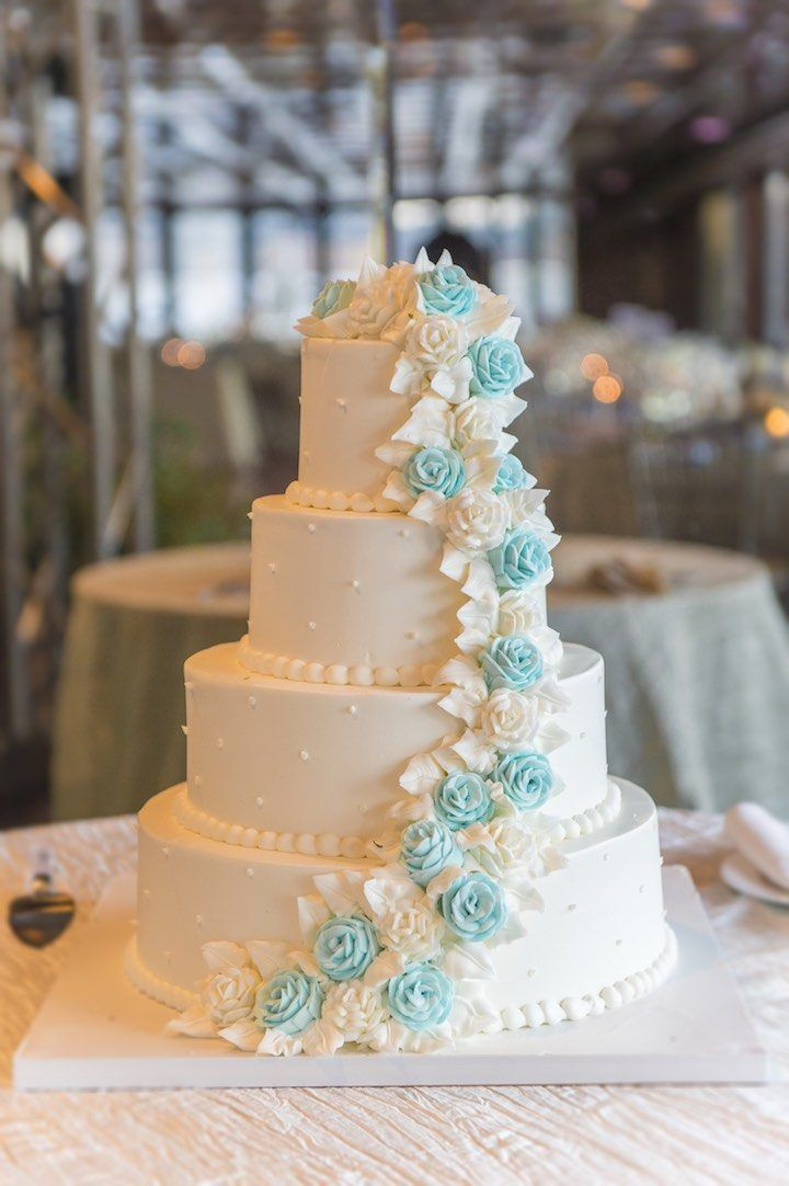 Featured Photographer: A Day of Bliss Photography; wedding cake idea