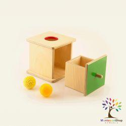 Cutia permanentei cu sertar si doua mingi