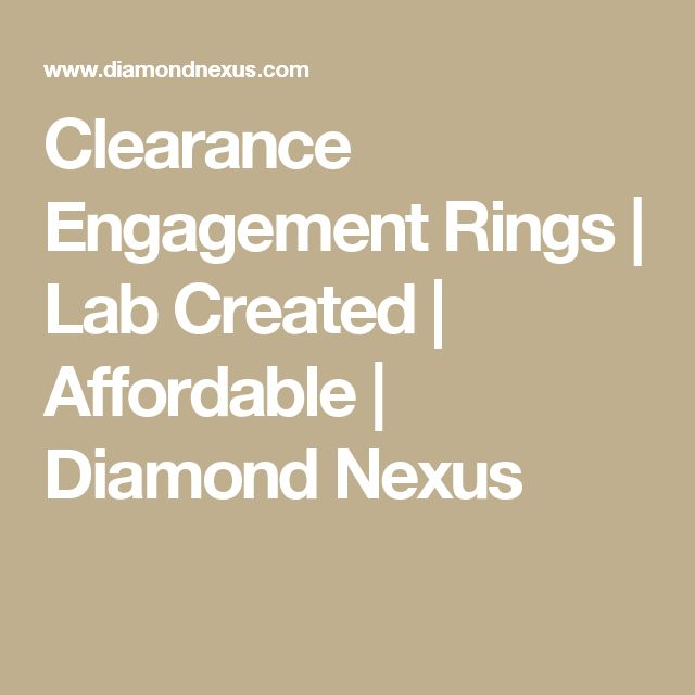 17 Best ideas about Clearance Engagement Rings on Pinterest