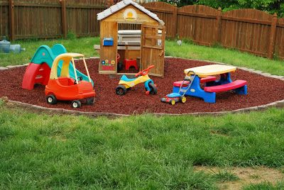 My Eco-Friendly Play Area (#ScottNaturals giveway)