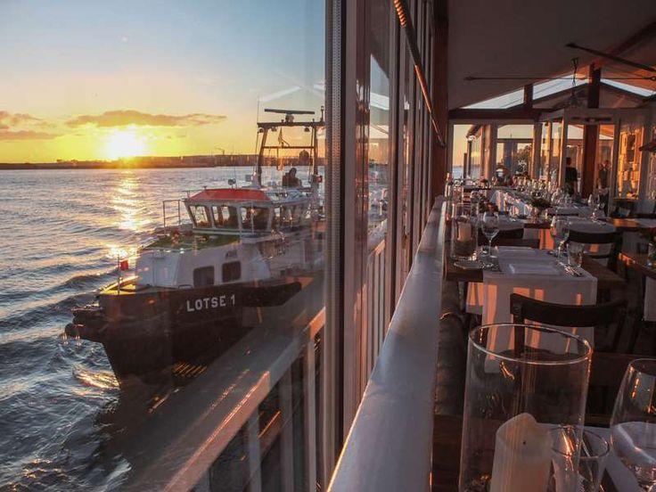 Engel · Restaurant · Imbiss · Hamburg · Elbe