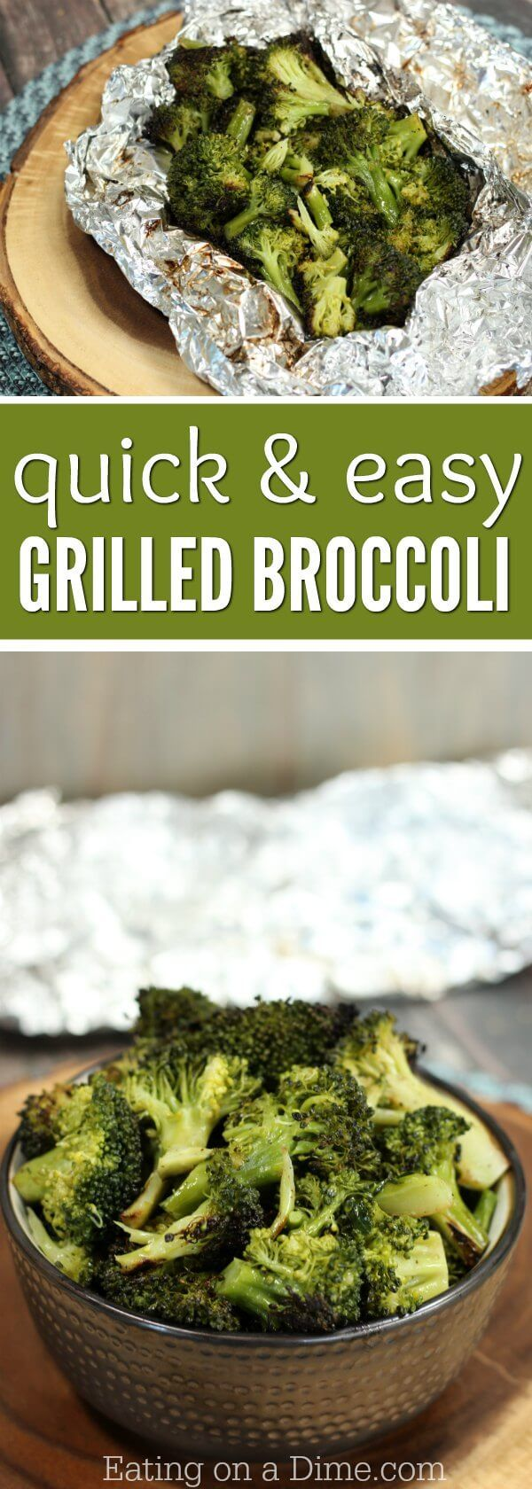 You will love how easy this Grilled Broccoli Side Dish recipe is. The entire family will love this easy grilled broccoli recipe! It's packed with flavor!