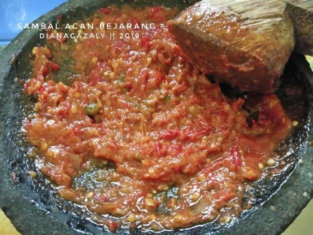 Resep Sambal Acan Bejarang Oleh Diana Az Resep Resep Ikan Bakar Makanan