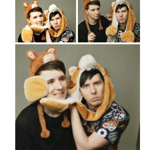 This doesn't even need a caption. <<OK BUT GUYS. LOOK AT HOW SMALL THE LLAMA HAT IS ON DAN'S HEAD. LIKE?? WHEN DID YOU GROW THIS BIG?? WHO GAVE YOU PERMISSION TO GIVE ME THESE FEELS??