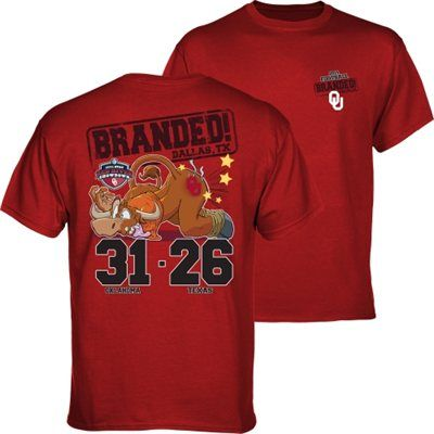 Branded! Oklahoma Sooners vs. Texas Longhorns 2014