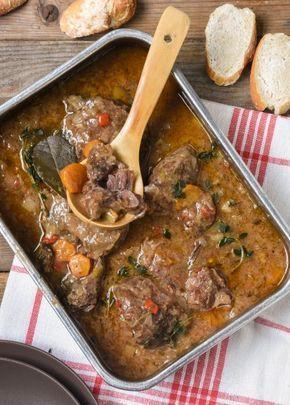 Carrillera ibérica con verduras y salsa de oporto - L´Exquisit