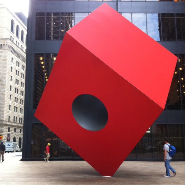 Who doesn't love Random squares that stand by themselves in the financial district? :)