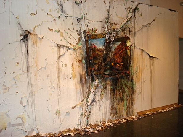 Talented Artist Valerie Hegarty Redefines Modern Art With Her Decaying Paintings