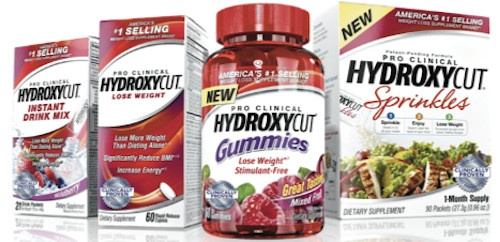 Hydroxycut adds Gummies and Sprinkles to its product line.