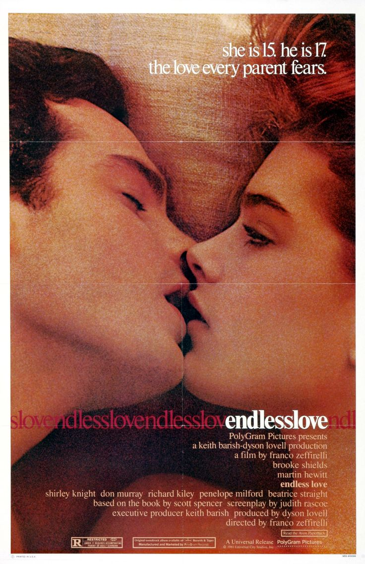 Endless Love (1981) - Brooke Shields DVD
