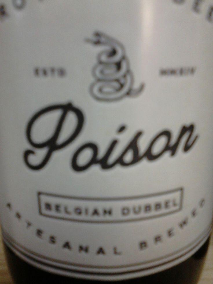 """Crotalus Beer """"Poison"""" - Belgian Dubbel"""