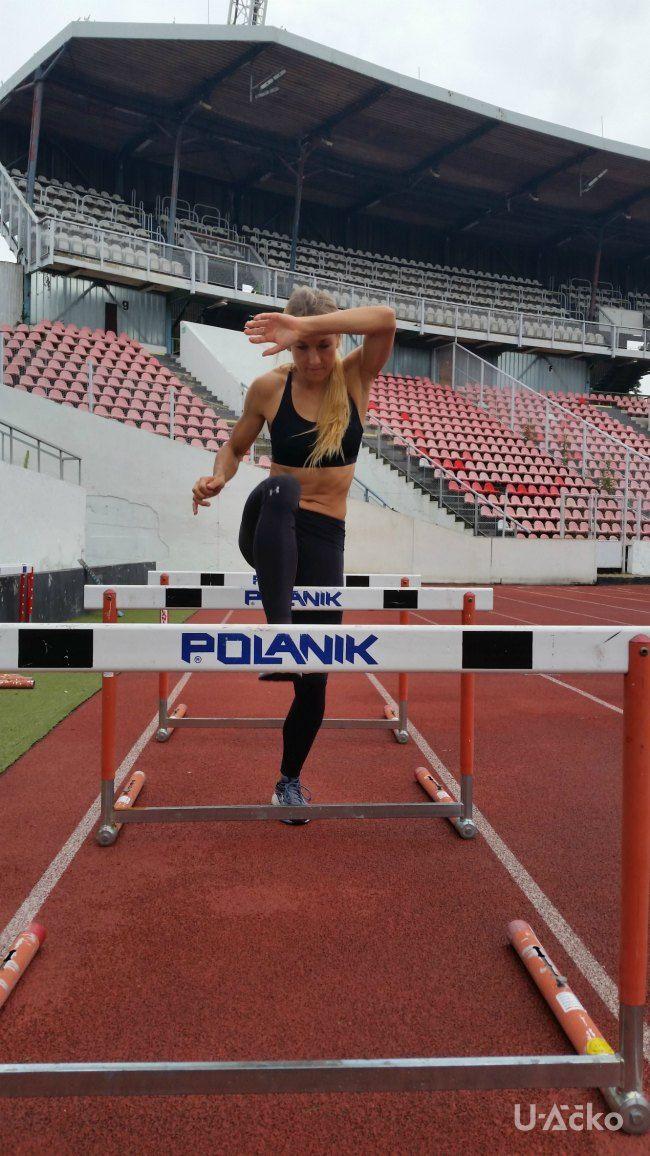Barbora Procházková Under Armour Praha