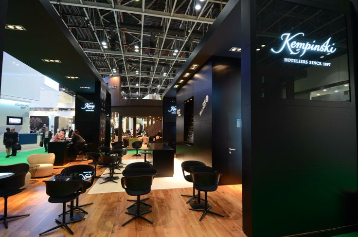 Design & installation of trade show booth at ATM Dubai by Elevations UK in 2013