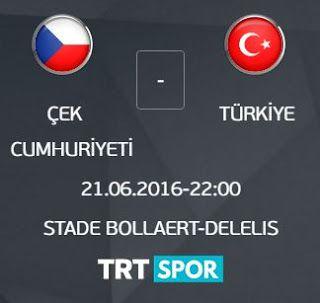 Euro 2016 Çek Cumhuriyeti - Türkiye