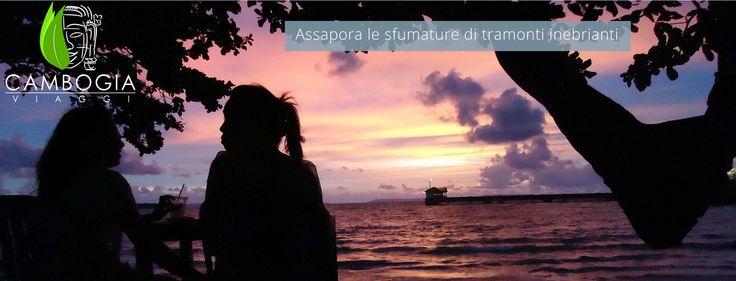 Serendipity Beach, Sihanoukville, 06.15 pm  #sihanoukville #beach #happyhour #sunset #colours