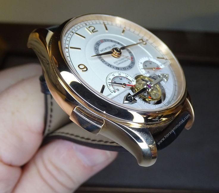Montblanc Heritage Chronométrie ExoTourbillon Minute Chronograph perfil
