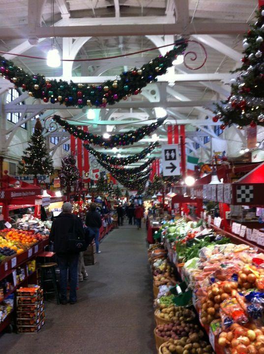 Saint John, New Brunswick. The old market.