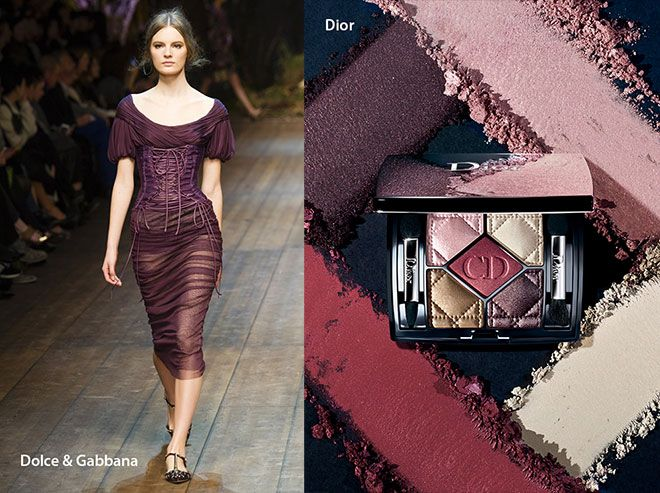 """Mauve is the new black"" for Fall 2014 so the top cosmetic companies like Dior, Estee Lauder, MAC included it to their collections.  English Article http://makigiaz.com/blog/fashion-trend-mauve-is-the-new-black-en/  Greek Article http://makigiaz.com/blog/fashion-trend-mauve-is-the-new-black/"