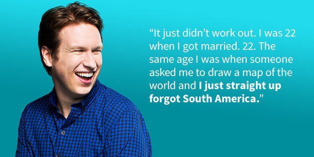 He's learned from his past mistakes | Community Post: 19 Reasons Pete Holmes Is The Perfect Man