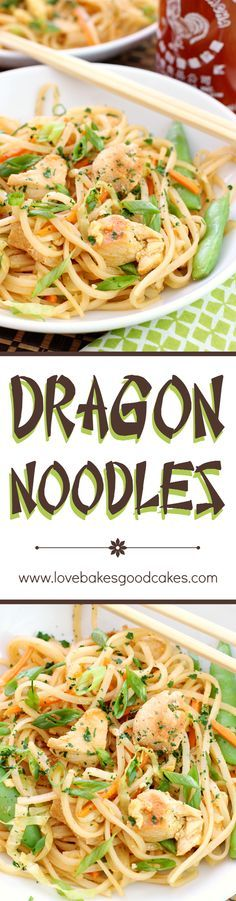 Spice up dinner with these fiery and delicious Dragon Noodles! This quick and easy recipe will have you in and out of the kitchen in no time!
