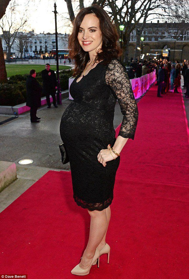 Sally Wood looked sensational in the Chloe Lace Dress in Black by Tiffany Rose accompanying her husband Ronnie Wood for the opening of the new Rolling Stones exhibition at the Saatchi Gallery last night. Sally teamed the fitted black lace dress with classic nude heels and a heart pendant, whilst Ronnie complemented the look with an animal print blazer. Find out more, in our latest blog post: bit.ly/Sally-Wood-Tiffany-Rose