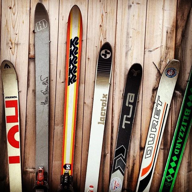Vintage -★- ski collection
