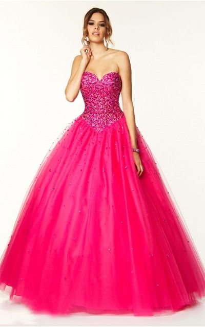 Sweetheart Sleeveless Ball Gown Lace-up Floor-length Formal Dresses afbb1040