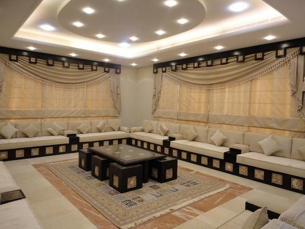 ديكورات صالات 90936801 Valance Curtains Decor Home