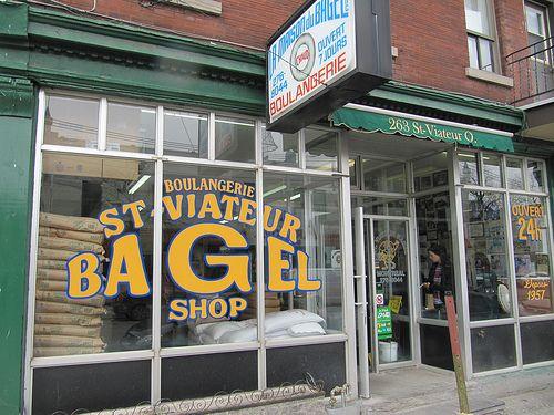 Montreal St. Viateur bagel shop - best bagels in Montreal