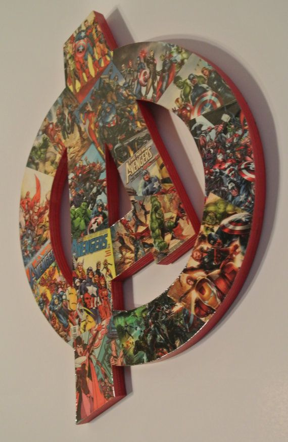 Avengers Wall Plaque made to order by helloskywalker on Etsy, $50.00