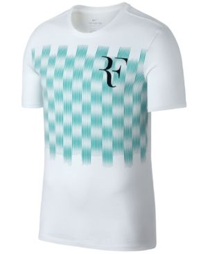 Nike Men's Roger Federer T-Shirt - White L