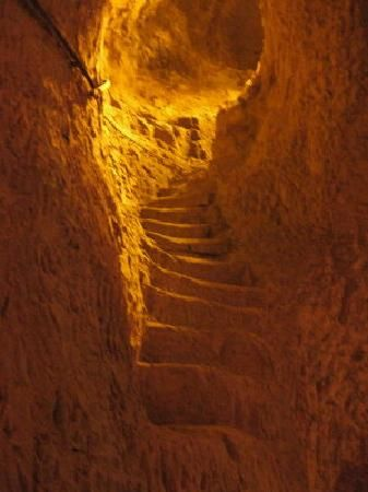Chalk caves - Champagne cellar Reims, France