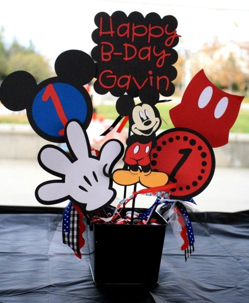 Mickey Mouse Birthday Party Ideas | Meowchie's Hideout
