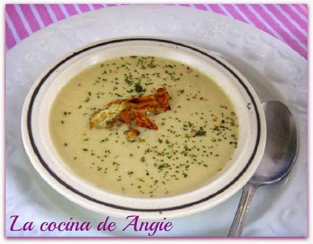 La cocina de Angie: CREMA DE ALCACHOFAS