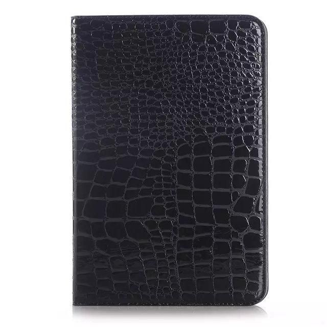 For SAMSUNG Galaxy tab S2 8.0 crocodile PU leather protective case,quality cover for SAMSUNG tab S2 8.0 T710/T715 +gifi film