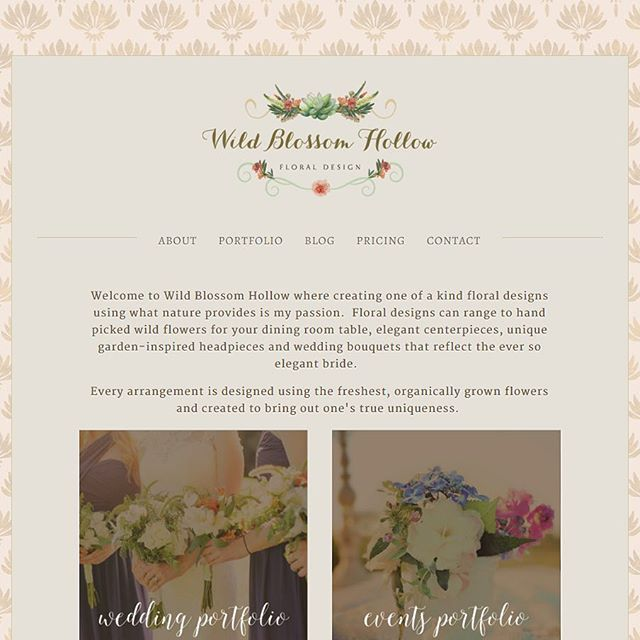 Website refresh launch day! Go check out Wild Blossom Hollow's new website showing off their amazing floral designs - wildblossomhollow.com - or read more in my portfolio. I had so much fun working with this beautiful soul  @wildblossomhollow #risingtidesociety #websitedesign #girlboss #bosslady #creativepreneur #graphicdesign #freelance #floraldesign #eventplanner