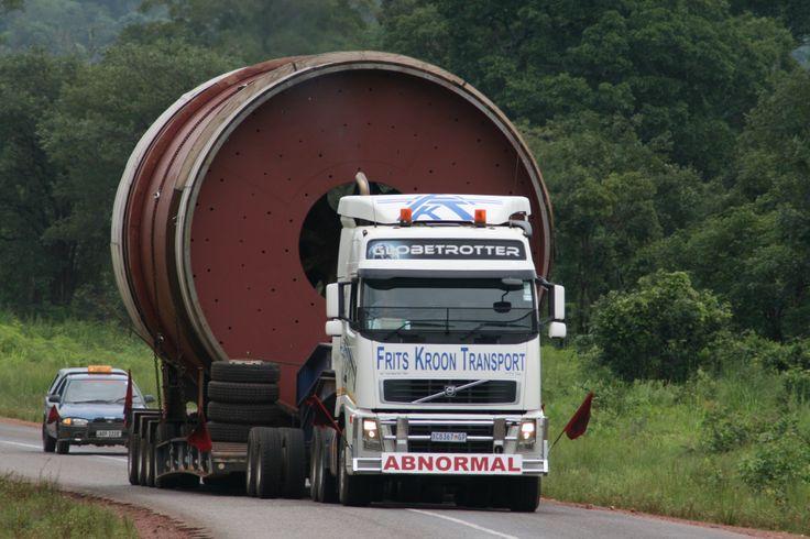 Big Truck, Abnormal Load, Zambia, Mining