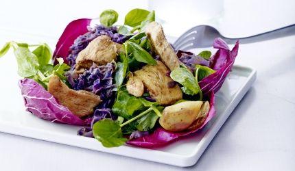 Kyckling i kål och curry - kvällsmat på 15 minuter | I FORM