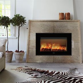 Morso S80 Inset - an impressive steel insert with big screen The Morsø S80 provides a unique experience of the fire, on the wall. This beautiful insert, which challenges all the senses, is an impressive feature in any home.