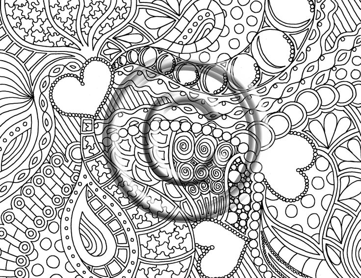 51 Best Images About Zentangle Coloring Pages On Pinterest