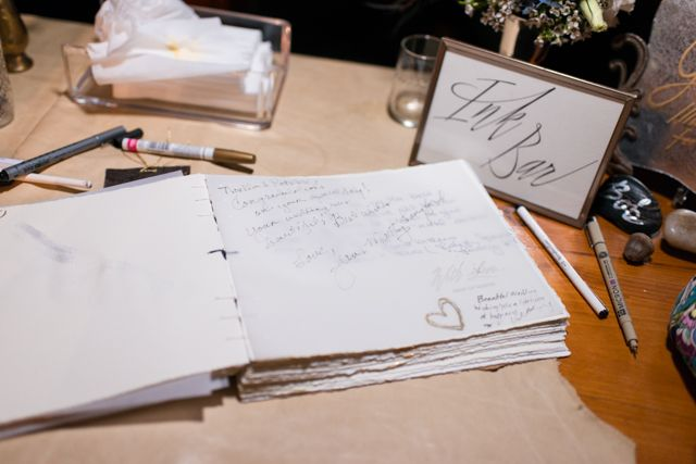 Guest book ideas | LH Photography | see more on:  http://burnettsboards.com/2015/04/vintage-glam-wedding/