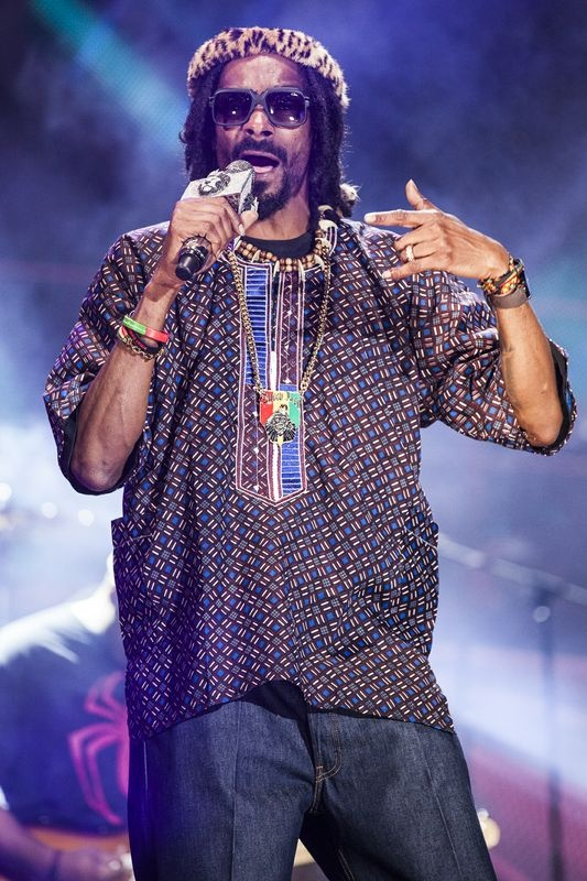 Snoop Lion at the MTV Africa All Stars concert.