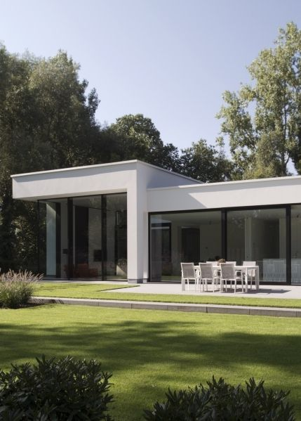 205 best images about nieuwbouw modern on pinterest - Foto gevel moderne villa ...