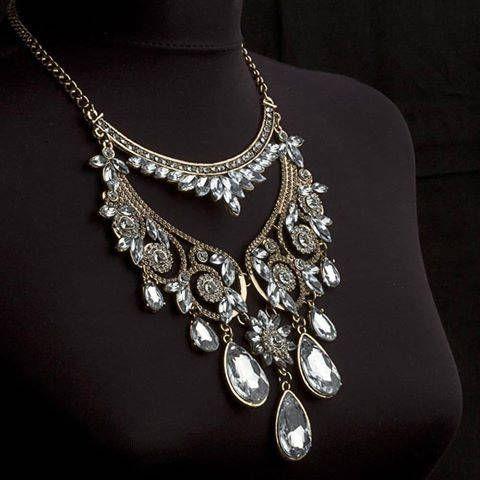 Ethnic Tribal Necklace Boho collar necklace Bohemian necklace