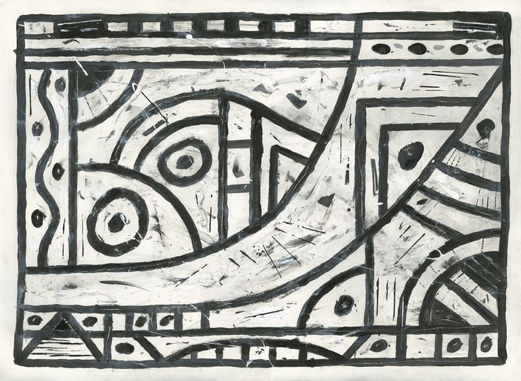 Paintings and Petroglyphs #17. Quality Giglee prints available through vargoart and on Etsy