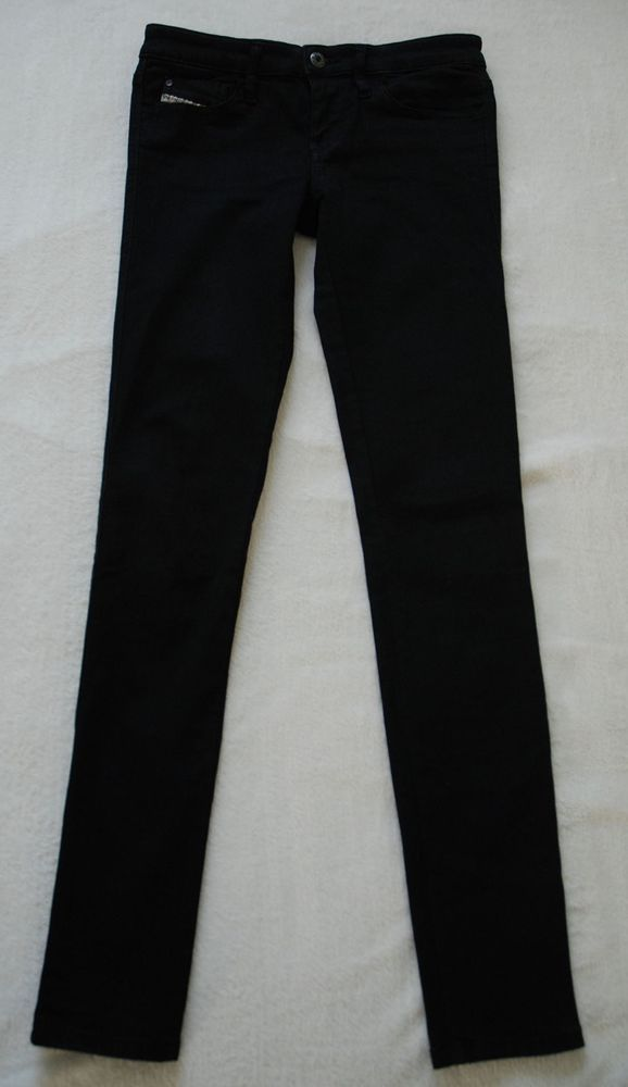 866dec08 Diesel Skinzee Super Slim Skinny Low Waist Black Jeans 0813E W28 L32 rrp  150. #fashion #clothing #shoes #accessories #womensclothing #jeans (ebay  link)