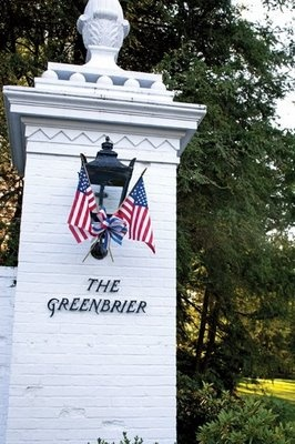 Should do something at the entrance for 4th of July, etc.  The Greenbrier
