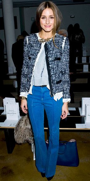 My go to jacket. Olivia Palermo - Star Finder Gallery - Celebrity - InStyle